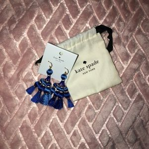 Kate Spade Pretty Poms Dangling Earrings